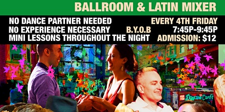 4th Fri Ballroom and Latin Mixer tickets