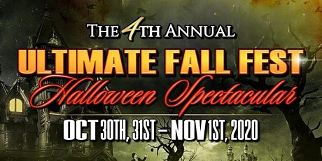 4th Annual Ultimate Fall Fest, Halloween Spectacular tickets