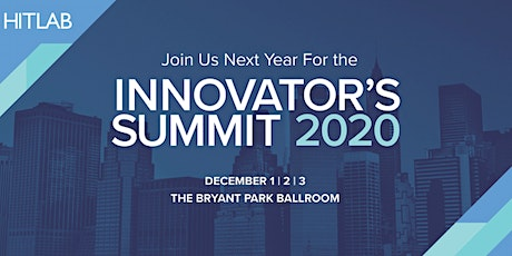 HITLAB Innovators Summit tickets