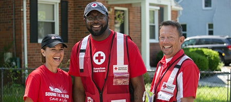 American Red Cross- Sound The Alarm- Join Us!