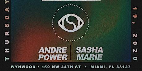 Miami Music Week: Andre Power & Sasha Marie tickets