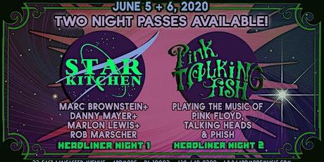 Pink Talking Fish + Star Kitchen tickets