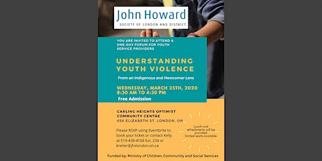 Understanding Youth Violence From an Indigenous and Newcomer Lens tickets