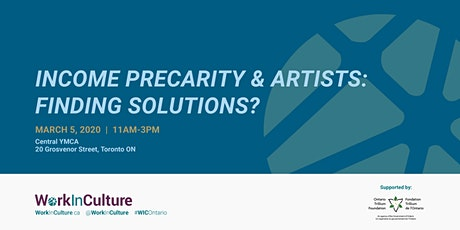 Income Precarity & Artists: Finding Solutions? tickets