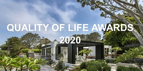 2020 Quality of Life Awards tickets