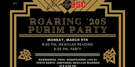 Roaring 20s Purim: The Jewish Party of the Year! tickets