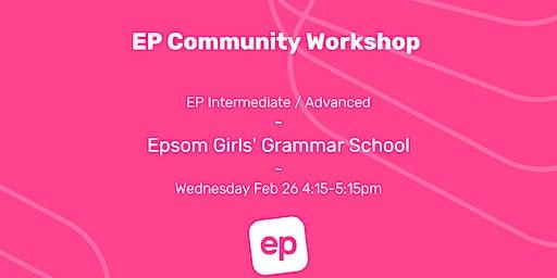 EP Community Workshop - Epsom