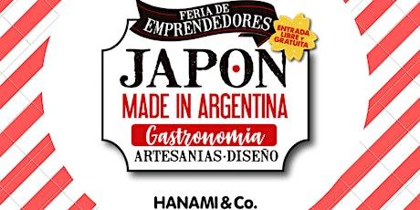 "Feria de emprendedores ""Japón Made in Argentina IX"" entradas"