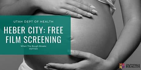 POSTPONED - Heber City: Free Maternal Mental Health Film Screening tickets