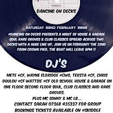 Skylines boat parties dancing on decs tickets