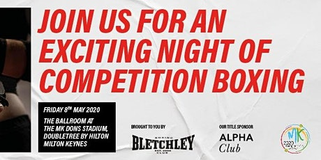 Bletchley Amateur Boxing Club's evening of competition boxing tickets