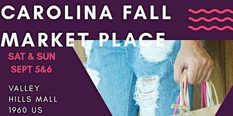 Carolina Fall Market Place tickets