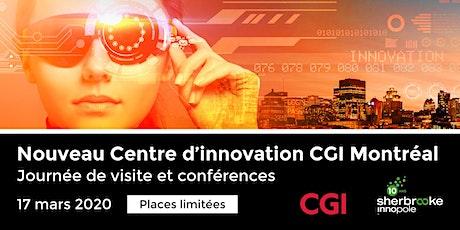 Visite du Centre d'innovation CGI de Montréal billets