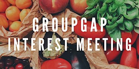 GroupGAP Interest Meeting tickets