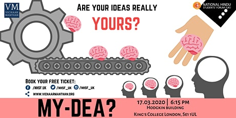 My-dea: Are your ideas really yours? tickets