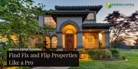 How to find properties for a successful Fix and Flip - Like a Pro tickets