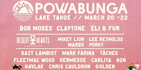 Powabunga Lake Tahoe tickets