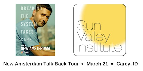 NBC and Sun Valley Institute New Amsterdam Talkback Tour tickets