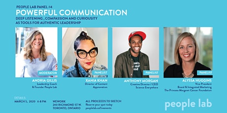 People Lab Panel: Powerful Communication tickets