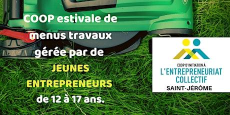 Jeunes entrepreneurs recherchés! Rencontre d'information CIEC Saint-Jérôme billets