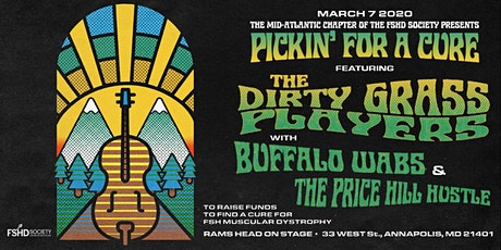 Pickin For A Cure - Donation For Muscular Dystrophy tickets