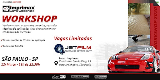 Workshop IMPRIMAX - JetFilm/SP