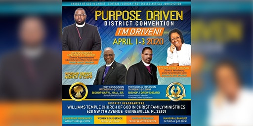 Purpose Driven District's Inaugural District Convention