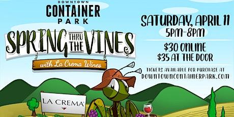 Spring Through the Vines Wine Walk tickets