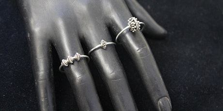 Sunday Jewelry Workshops: Stackable Ring Set tickets