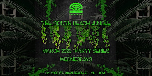 Welcome To The Jungle Wednesdays - Treehouse - Plugged Spring Break
