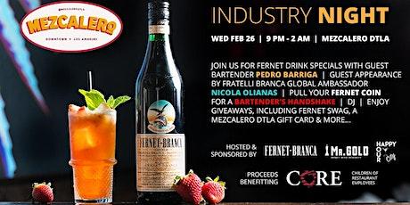Fernet Industry Night at Mezcalero tickets