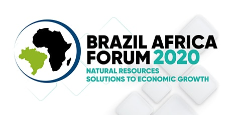 Brazil Africa Forum 2020 | Natural Resources: Solutions to Economic Growth ingressos