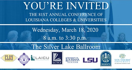 The 81st Annual Conference of Louisiana Colleges & Universities tickets