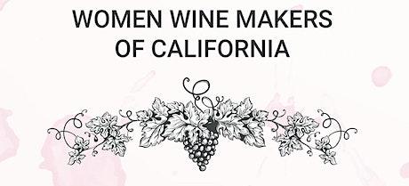 CELEBRATING WOMEN WINEMAKERS OF CALIFORNIA WINE DINNER tickets