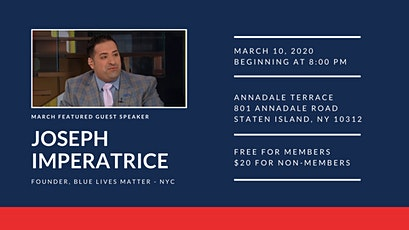 Joseph Imperatrice visits the Staten Island Young Republicans tickets