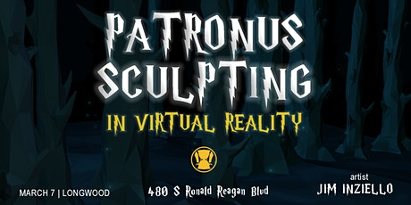 Potter Patronus Sculpting Live Virtual Reality Display tickets