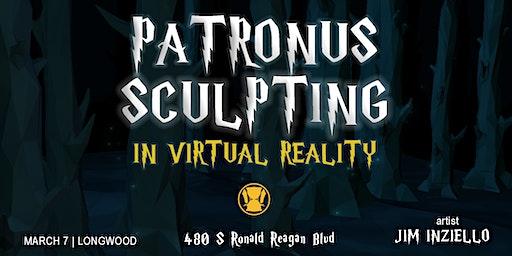 Potter Patronus Sculpting Live Virtual Reality Display