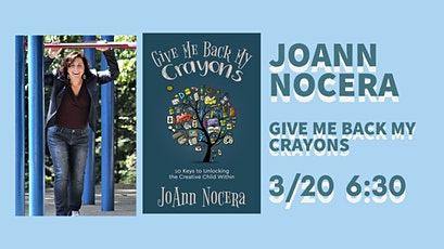 10 Keys to Unlocking the Creative Child Within--JoAnn Nocera at BookTowne tickets