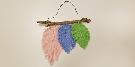 Macrame Feathers w/Pam tickets