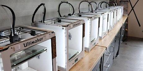 3D Printing Workshop 1 tickets
