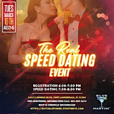 The Real Speed Dating Event (21-45) tickets