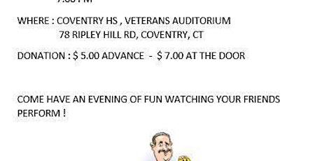 Steve Wronker's Hypnosis Show Fund Raiser tickets