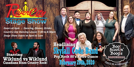 River City Stage Show - Wiklund vs Wiklund with SkyFall Code Band tickets