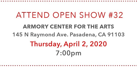 Pasadena Photography Arts Presents Open Show #32 tickets