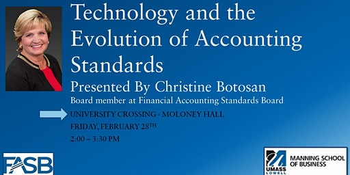 Acct. Speaker Series - Technology and the Evolution of Accounting Standards