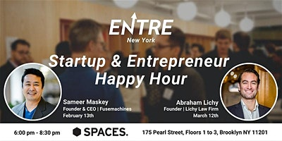 Startup & Entrepreneur Happy Hour - NYC