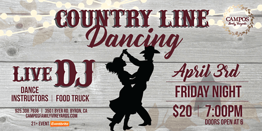 Country Line Dancing!