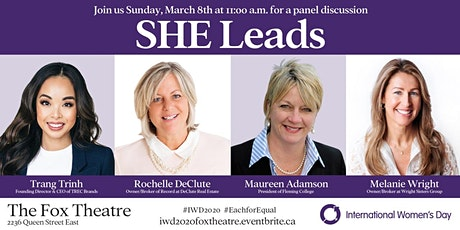 SHE Leads: International Women's Day Panel at The Fox Theatre tickets