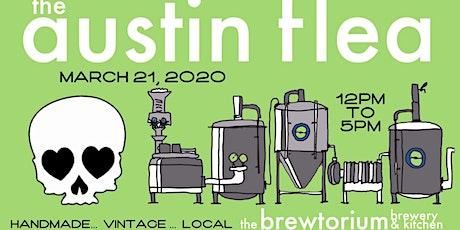 The Austin Flea at the Brewtorium Kitchen & Brewery tickets