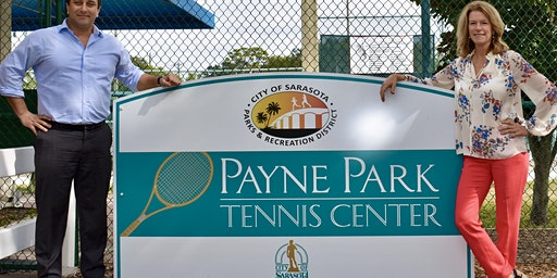Elizabeth Moore Sarasota Open Reserved Box Seating Monday April 13th